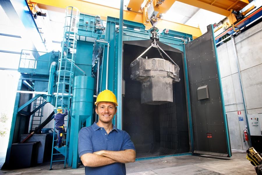 Ledande leverantör inom industriell blästring, trumling, slip & avgradning samt garnet för vattenskärning